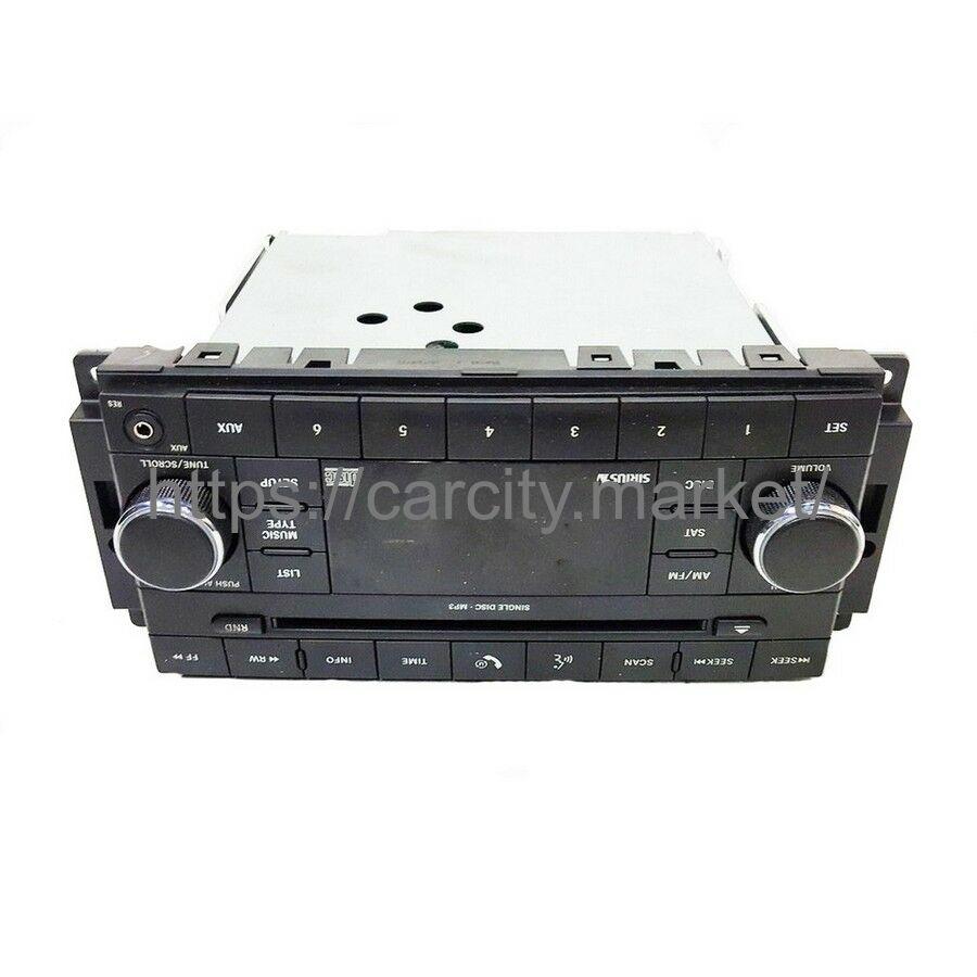 Радио MP3 Chrysler/Dodge 2007-2012г