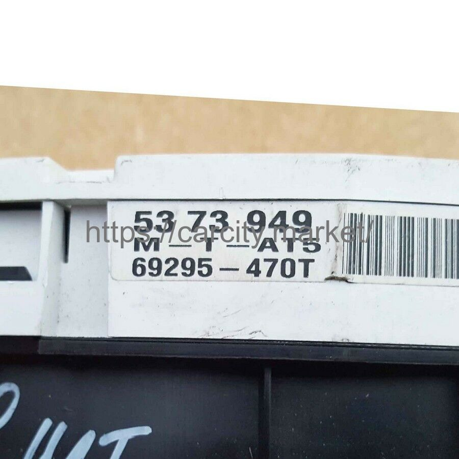 Приборная панель SAAB 9-5 5373949