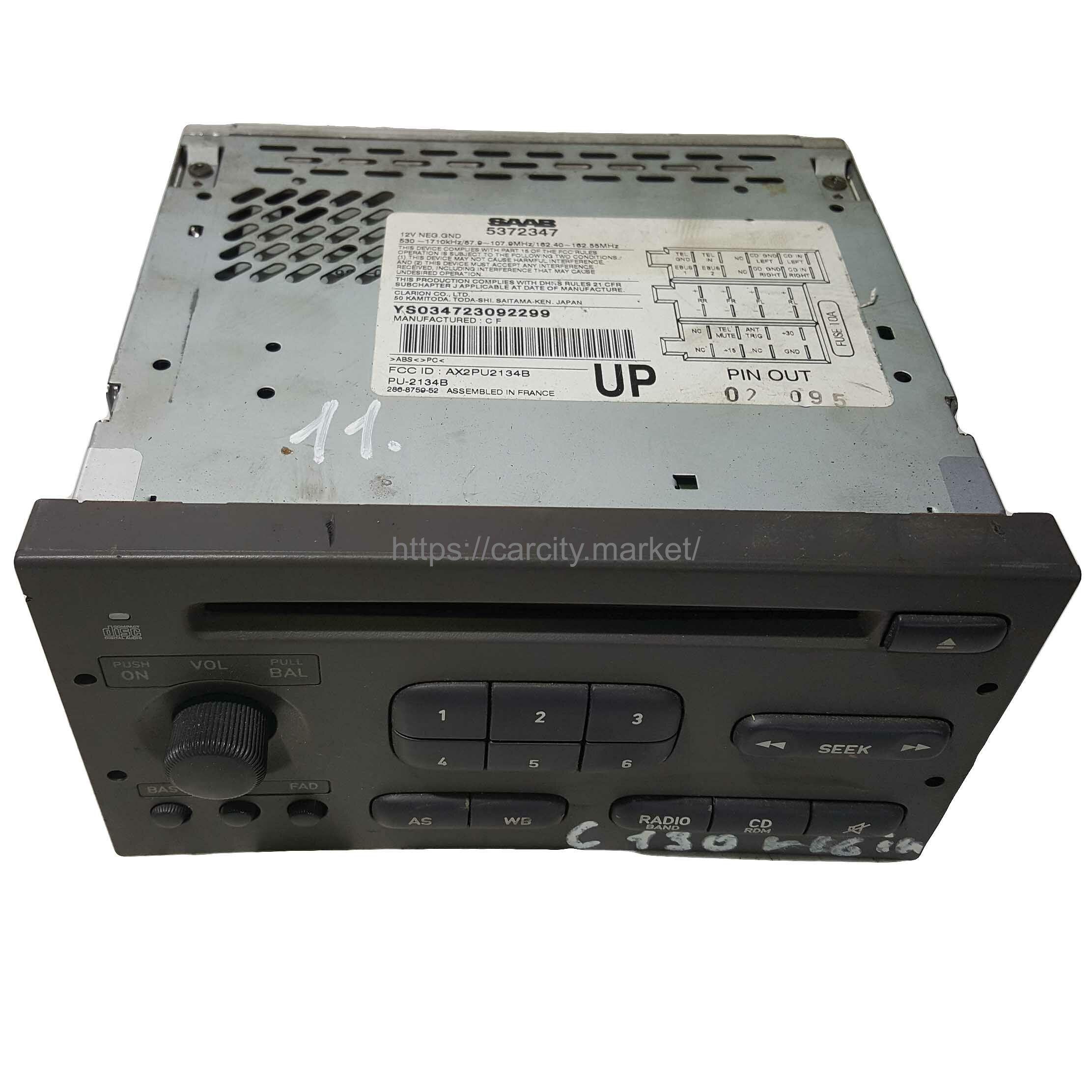 Радио с CD SAAB 9-3 2001-2003г купить в Карсти Маркет