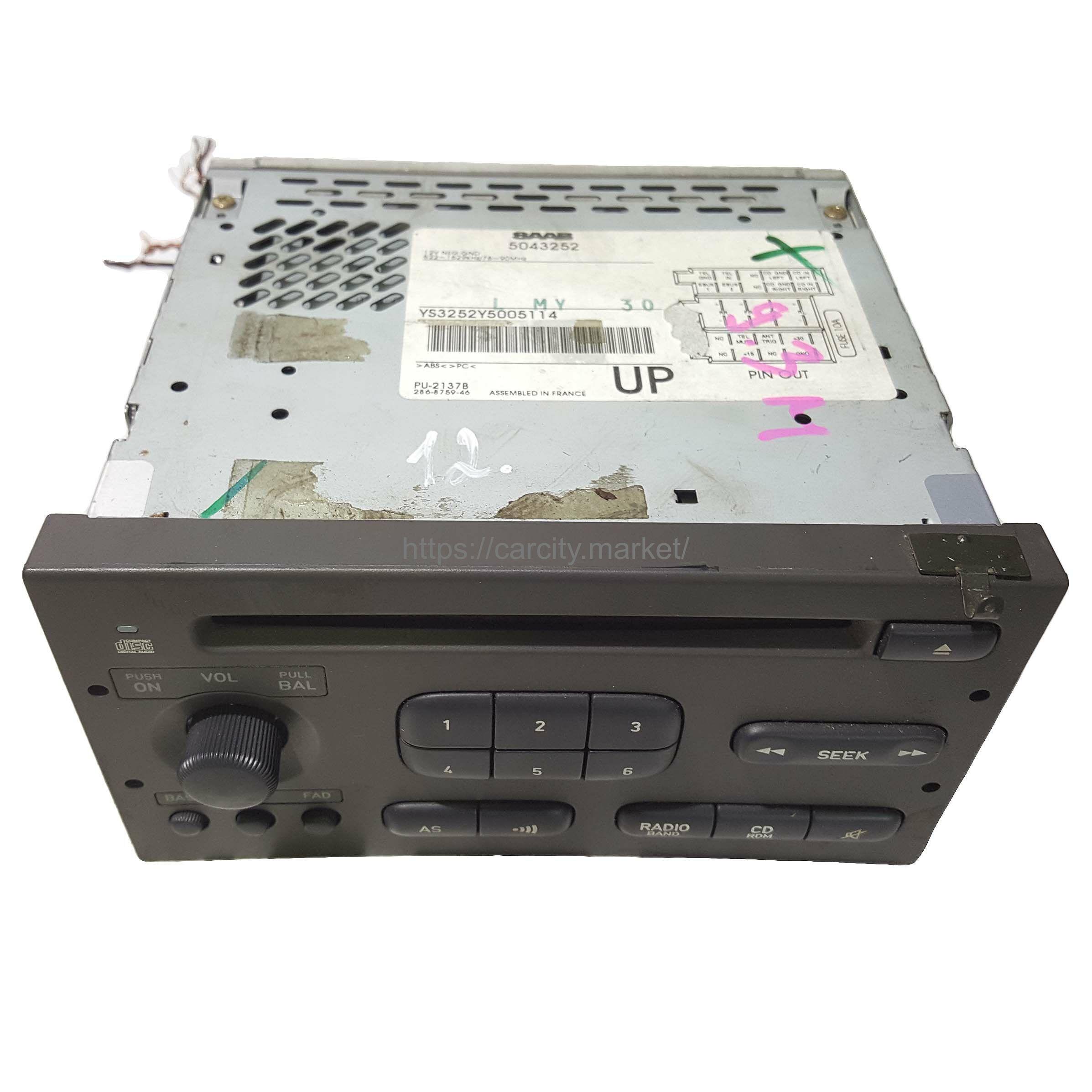 Радио с CD SAAB 9-3 1998-2003г купить в Карсти Маркет