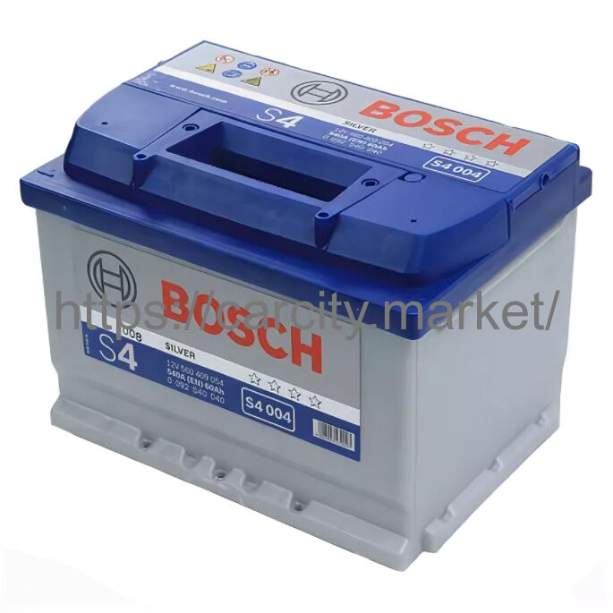 Аккумулятор BOSCH S4 004 Силвер 12V 60Ah 540A купить в Карсти Маркет