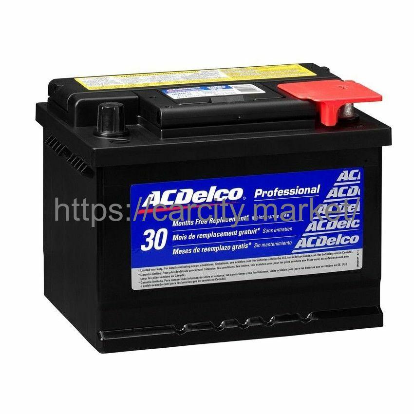 Аккумулятор ACDelco S4 004 Силвер 12V 60Ah 540A купить в Карсти Маркет